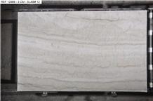 Bianco L Quartzite Slabs, Brazil Ivory Quartzite