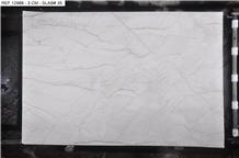 Bianco Superiore Quartzite Slabs, Brazil White Quartzite