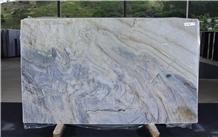 Blue Van Gogh Quartzite Slabs, Brazil Blue Quartzite