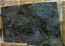 Cheap Polish Madagascar Blue Granite Slab for Sale