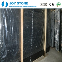Hot Cheap Polished Ice Black Nero Marquina Marble