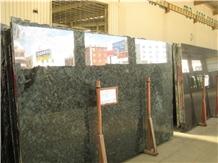 Labradorite River Blue Granite Polished Big Slabs