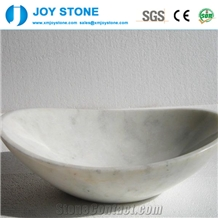 Wholesale White Marble Pedestal Stone Wash Basin