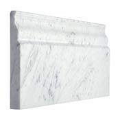 Carrara Bianco Marble Skirting Baseboard