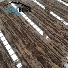 China Gold Coast Marble Slabs Brown Marble Tiles