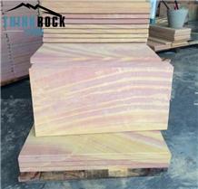 Rainbow Sandstone Slabs & Sandstone Tiles