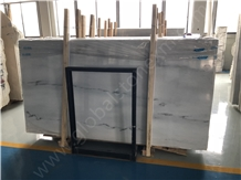 Atlantis White Marble with Grey Veins Slabs Tiles