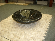 Black Marquina,Natural Nero Marquina Marble Bowls