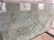 Blue Riff Marble Slabs Tiles Exotic