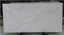 Contemporary Statuario White Quartz Stone Slabs