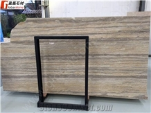 Gs Travertine Slabs Tiles for Commercial Project