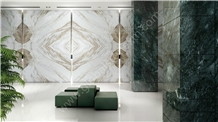 Hot Selling Thassos Medusa Marble Slabs Tiles