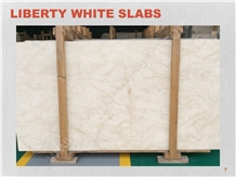 Iran Liberty White Marble Slab Tile Hotel Project
