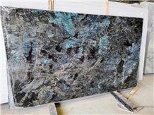 Labradorite River Blue Granite Slab Tiles Magic