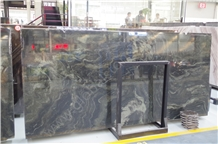 Quicksand Green Granite Cross Cut Vein Cut Slabs