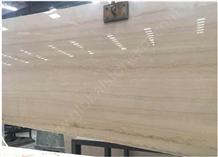 Serpegiant Wooden Italian Marble Slabs