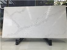 Statuario Artificial Quartz Slab for Countertops