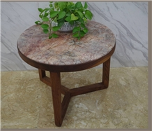 Violet Gold Marble Slabs for Tabletops