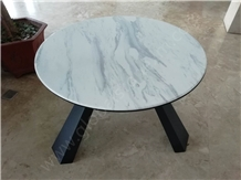 Volakas White Marble Table Tops