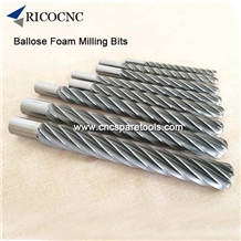 Big Long Foam Mill Bits for Eps Poly Foam Cutting
