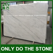 China Oriental White/Eastern White Marble Slab