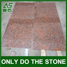 G562 Granite Tile/Slab,Maple Leaf Red,Charme Red