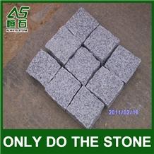 G603 Granite Cobbles Paving Stone