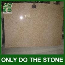 G682 Granite,Sunset Gold,Rusy Yellow Granite Slab