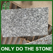 Spray White Granite Slab/Tile,Sea Wave Granite
