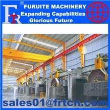 Plc Multi Blade Cutting Machine Stone Block Cutter