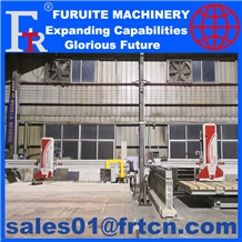 Stone Granite Marble Cutter Bridge Saw Cut Machine