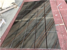 Brazil Duetto Elegant Brown Natural Quartzite Slab