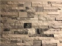 Cloudy Grey Split Face Cultured Stone Ledge Stone