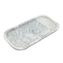 Carrara Marble Bath Tray, Bath Canister, Soap Dish
