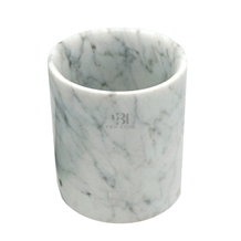 White Marble Bath Accessory, Bathroom/Kitchen Set