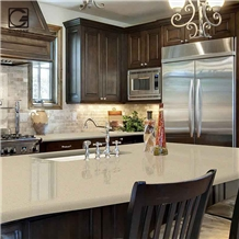 Beige Color Quartz Stone Countertops Oem/Odm