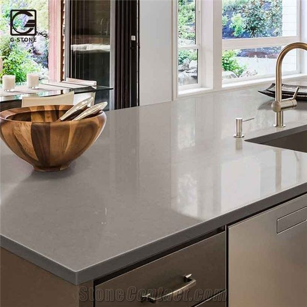 Corian Solid Surface Top In Fossil Matt Quartz From China