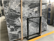 Gray Clouds Cloudy Marble Slabs,Polished Tiles