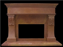 Custom Fireplace Surrounds Hand Sculptured Mantels