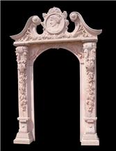 Custom Sculptured Door Surround Door Frame Mantel