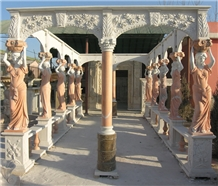 Custom Sculptured Gazebos Project Western Statue