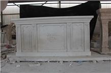 Hunan White Marble Altar Church Furnishing Project