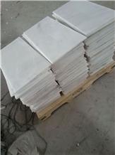 Danba White Marble Slabs Floor Tiles for Bathroom