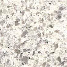 White Natural Quartz Stone Slabs Wall Tiles