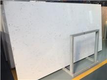 White Quartz Stone Slabs,Quartz Floor Tiles