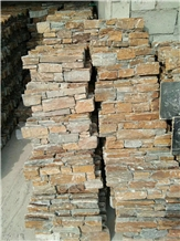 Rusty Grain Stacked Stone Veneers Wall Cladding