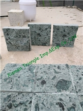 China Green Sukabumi Stone Pool Decking Tiles