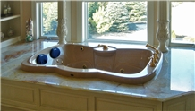 Honey Onyx- Onice Mirafiori Bath Tub Deck