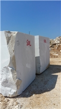 Marbella White Marble Block, Turkey White Marble