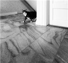 Oppdal Mork Golan Brushed Floor Tiles